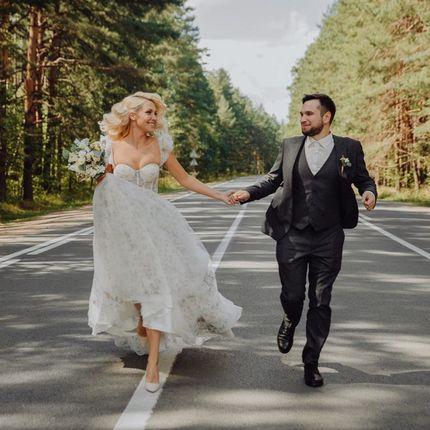 Образ невесты: причёска и макияж