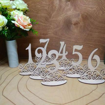 Номерки на стол