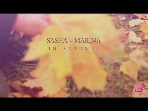 In Autumn. Sasha + Marina. LoveStory