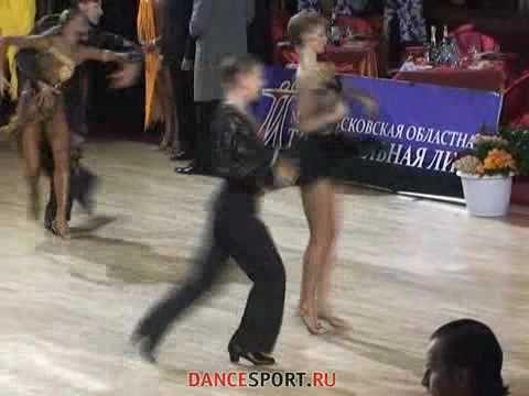 Профессиональный турнир. Инга Капканщикова и Евгений Орлов. Самба.
