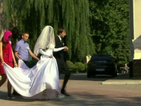 Красивое венчание Антона и Наталии 45