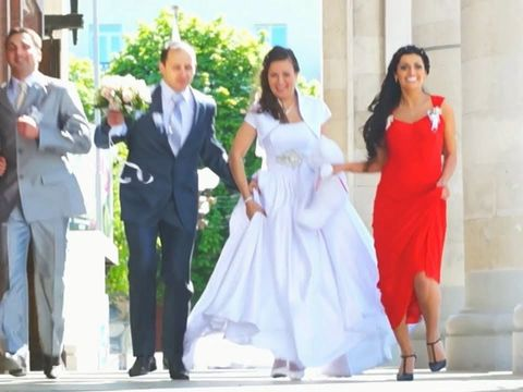 Красивая весенняя свадьба Артема и Екатерины 74