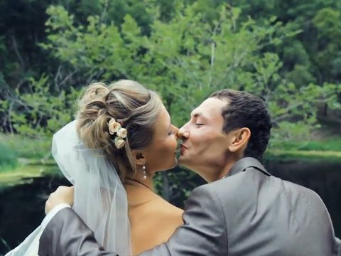 Красивая свадьба Виктора и Алены 78