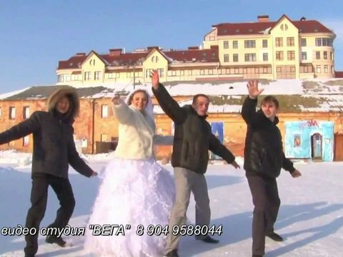 Красивая зимняя свадьба Александра и Яны 34