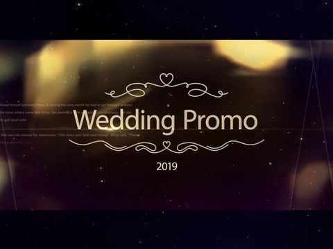 wrdding promo