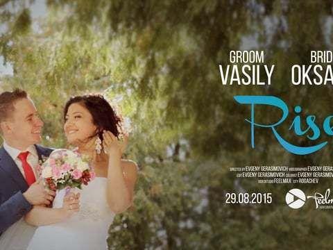 Свадебный клип 'Rise'