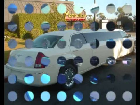 Слайд шоу лимузина крайслер 300С