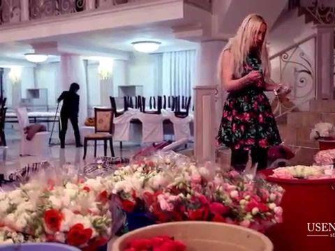 Свадьба в Бишкеке - украшение ресторана Алтын Казына www.alana-show.kg