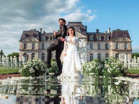 Китайская свадьба во Франции: Monica & Sherwin