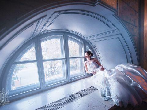 Образ невесты и жениха для свадебной фотосъёмки