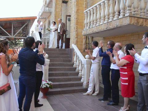 Романтичная свадьба в Волгограде