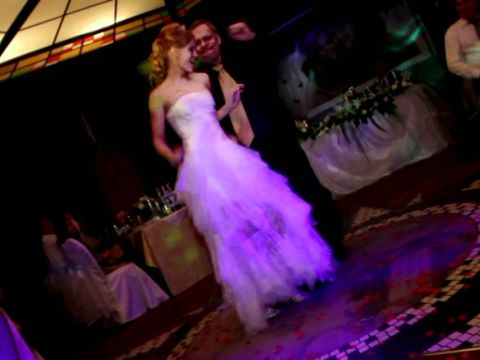 Нестандартный танец отца и дочери на свадьбе Антона и Наташи