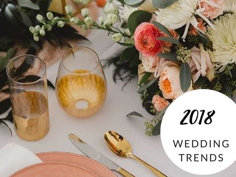 2018 Spring & Summer Wedding Trends