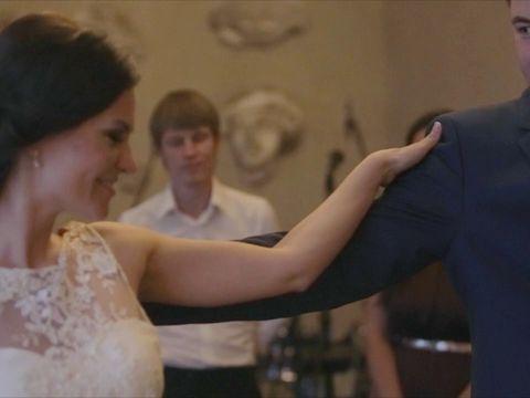 Классический джазовый свадебный танец