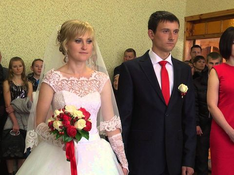 Свадьба в Добринке.ЗАГС и прогулка
