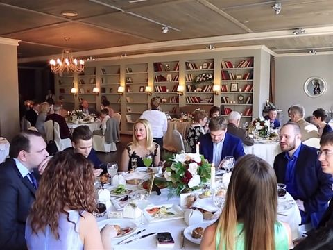 Организация свадьбы в ресторане Terrine