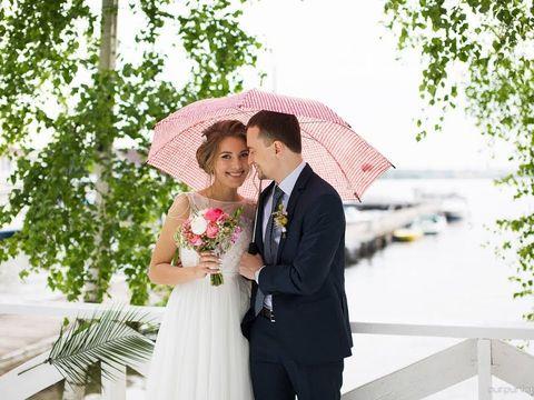 Свадьба в шатре и выездная регистрация в яхт-клубе июль 2017