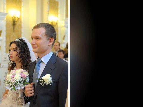 Слайд шоу о дне бракосочетания Павла и Насти Кутузовых