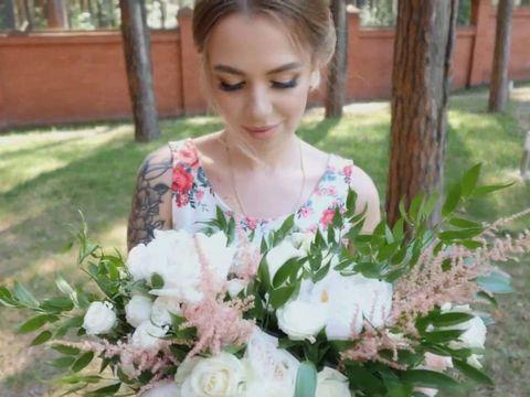 Стильная свадьба Юлии и Степана