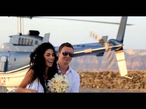 Свадьба Беллы и Игната на острове Санторини