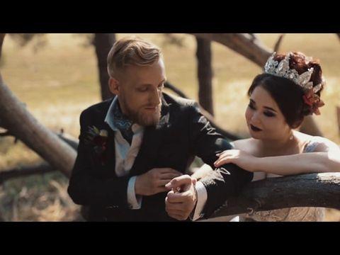 """Свадьба в стиле """"Мастер и Маргарита"""""""
