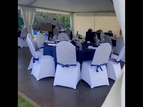 Свадьба в синих тонах - это стиль Аристократов